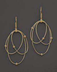 Lagos   Metallic 18k Gold Drop Earrings   Lyst