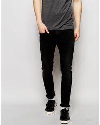 Calvin Klein Jeans | Black In Super Skinny Stretch for Men | Lyst