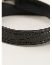 JvdF | Black Solid Toggle Bracelet for Men | Lyst