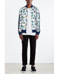 Adidas Blue Originals Island Superstar Track Jacket for men