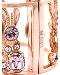 Mawi - Metallic Bunny Bangle - Lyst