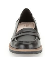 Clarks Black Griffin Milly Loafers