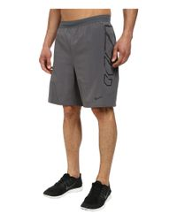 "Nike Gray Vapor 8"" Short for men"