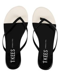 TKEES | Black French Tips | Lyst