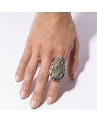 Pamela Love | Green Jasper Ring - Size 7 | Lyst