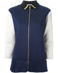 Marni - Blue Colour Block Sport Jacket - Lyst