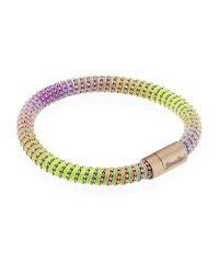 Carolina Bucci Multicolor Twister Bracelet