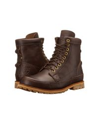 "Timberland | Brown Earthkeepers® Rugged Original Leather 6"" Boot for Men 