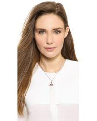 Vivienne Westwood Metallic Heart Orbit Necklace