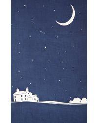 "Barneys New York - Blue Midsummer Night Sky"" Book-Print Scarf for Men - Lyst"