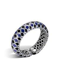 John Hardy | Blue Legends Naga Scale Cuff | Lyst