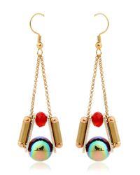Scho - Metallic Oz Short Cake Earrings - Lyst
