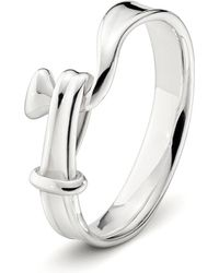 Georg Jensen | Metallic Torun Sterling Silver Ring | Lyst