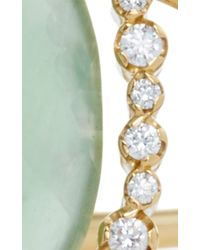 Jordan Alexander - Blue Mo Exclusive: One Of A Kind 18k Gold Aquamarine And Pearl Slice Bracelet - Lyst