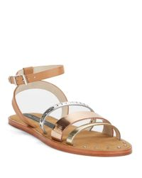 Matt Bernson | Metallic Isle Gladiator Sandals | Lyst