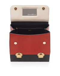 Dolce & Gabbana Black Python-lizard Skin Shoulder Bag