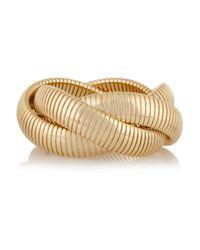 Kenneth Jay Lane - Metallic Gold-plated Bracelet - Lyst