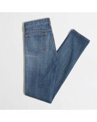 J.Crew - Blue Factory Midrise Skinny Jean - Lyst