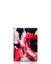 kate spade new york Multicolor Cedar Street Hazy Floral Passport Holder