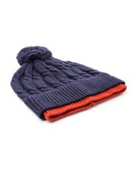 Racing Green - Blue Harley Tipped Bobble Hat for Men - Lyst