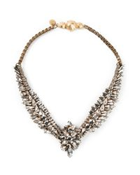 Shourouk | Metallic 'Tabatha Comet' Necklace | Lyst