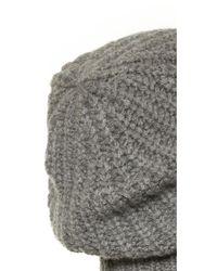 Rag & Bone | Gray Alexis Beanie Hat | Lyst