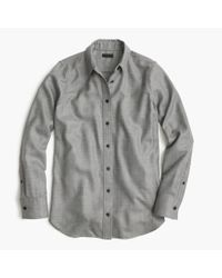 J.Crew Gray Collection Blouse In Italian Cashmere Shirting for men