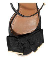 Tory Burch | Black Penny Wedge Sandal | Lyst
