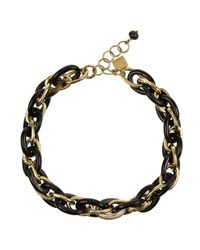 Ashley Pittman | Metallic Ndovu Horn and Goldtone Chainlink Necklace | Lyst