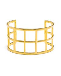 BaubleBar | Metallic Double Ladder Cuff | Lyst
