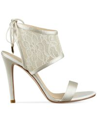 Ivanka Trump | Natural Daza Dress Sandals | Lyst