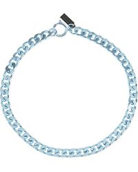 The Kooples Sport | Blue Chain Necklace - For Women | Lyst