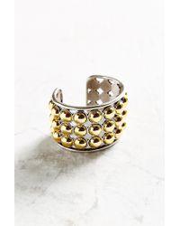 Giles & Brother   Metallic Ball Cuff Bracelet   Lyst