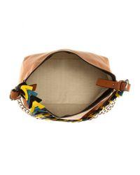 Loewe - Brown V Bucket Leather Shoulder Bag - Lyst