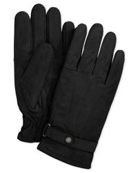 Barbour | Black Leather Thinsulate Gloves for Men | Lyst