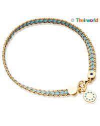 Biography Blue Theirworld Charity Bracelet
