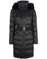 Burberry | Black Abingerf Padded Coat | Lyst