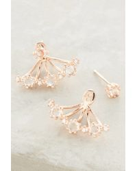Anthropologie | Pink In Bloom Earrings | Lyst