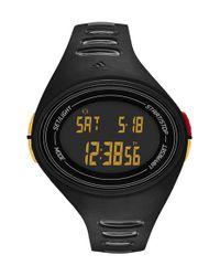 Adidas - Black 'adizero' Digital Watch for Men - Lyst