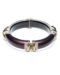 Alexis Bittar - Black Tapered X Bangle You Might Also Like - Lyst