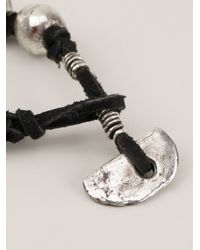 Henson - Black Beads Bracelet - Lyst