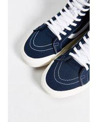 Vans Blue Sk8-hi Reissue Canvas Sneaker for men