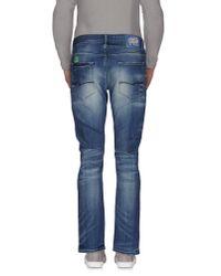 Jack & Jones - Blue Denim Trousers for Men - Lyst