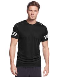 Adidas | Black Men's Response Performance T-shirt for Men | Lyst