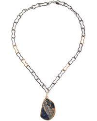 Kelly Wearstler | Black 'geary' Pendant Necklace | Lyst