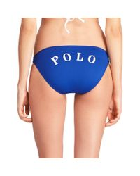 "Polo Ralph Lauren - Blue ""polo"" Hipster - Lyst"