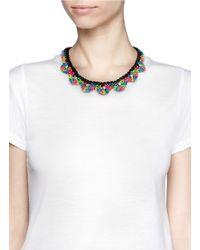 Venessa Arizaga - Multicolor 'electra' Threadwork Necklace - Lyst