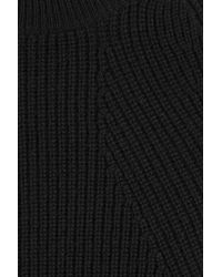 Helmut Lang - Wool And Cashmere Pullover - Black - Lyst