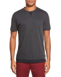 Ted Baker | Gray 'slomo' Slim Crewneck T-shirt for Men | Lyst