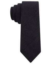Tommy Hilfiger - Blue Diddy Pindot Skinny Tie for Men - Lyst